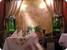 Søjleakvarier på restaurant :: Sekskantet søjleakvarium